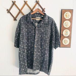 Vintage 100% Silk Hawaiian Shirt